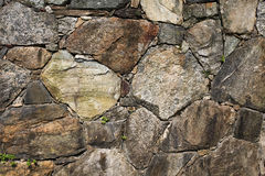 Stones. Background walpaper made from gry stones Royalty Free Stock Photography