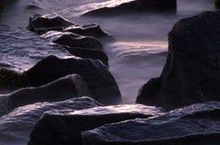 Stones. In sea Stock Image