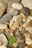 Stones. The natural stone is a natural building material Stock Image