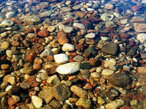 Stones. In river Stock Image