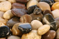 Stones. River decoration stones/rock Royalty Free Stock Photos