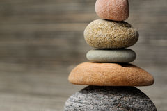 Stones. Horizontal image of balancing stones Stock Photography