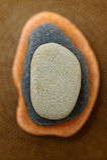 Stones. Vertical image of 3 stones Stock Photos