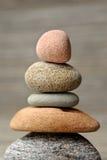 Stones. Vertical image of balancing stones Royalty Free Stock Photos