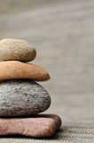 Stones. Vertical image of balancing stones Stock Images