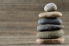 Stones. Vertical image of balancing stones Royalty Free Stock Images