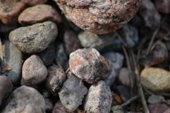 Stones. A pile of big stones Royalty Free Stock Photography