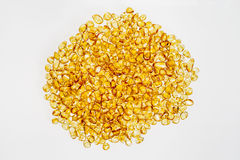 Stones amber yellow light on the surface. Stones amber yellow to bright surfaces are smooth layer Royalty Free Stock Images