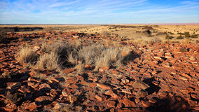 Stones From Ancient Pueblos at Wupatki National Monument Stock Photo