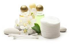 Stones And Shampoo Stock Photos