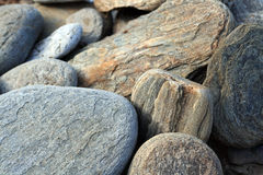 Stones as background Royalty Free Stock Images