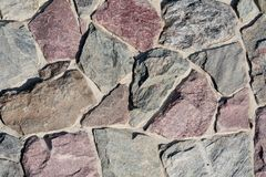 Stones as a Background Royalty Free Stock Photography