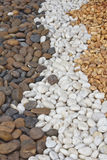 Stones background. Background of stones that ornamental of Thai house garden Royalty Free Stock Images