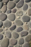 Stones Background. A background with a view of a pattern of a stone floor Royalty Free Stock Image