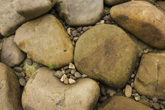 Stones background. Natural minerals. In the mountains Stock Image