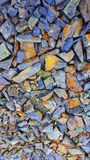 Stones background||rock texture wall|| colorfull stones||abstract. royalty free stock photo