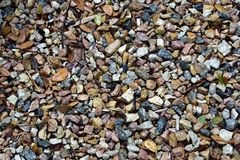 Stones. Background stones of various colors Stock Image
