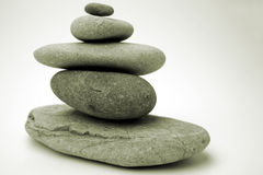 Stones in balance Stock Images