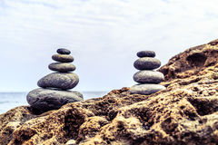 Stones balance inspiration wellness concept Stock Images
