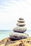Stones balance inspiration wellness concept. Stones balance and wellness retro spa concept, inspiration, zen-like and well being tranquil composition. Close-up stock photos