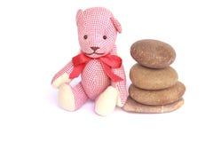 Stones balance - pebbles stack - Stock Image Stock Photo