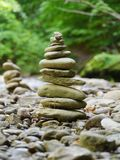 Stones in balance Royalty Free Stock Photos