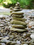 Stones in balance Royalty Free Stock Photo