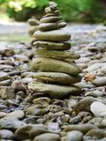 Stones in balance Royalty Free Stock Images