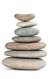 Stones in balanced pile Royalty Free Stock Images