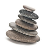 Stones in balanced pile Royalty Free Stock Image