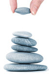 Stones in balanced pile Stock Photos
