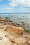 Stones in Baltic sea. Royalty Free Stock Image