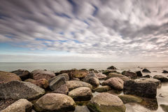 Stones on the Baltic Sea Royalty Free Stock Photos