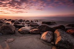 Stones on the Baltic Sea Royalty Free Stock Image