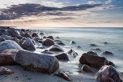 Stones on the Baltic Sea Royalty Free Stock Images