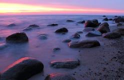 Stones in the Baltic Sea Stock Photos