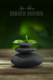 Stones banner Royalty Free Stock Images