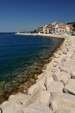 Stones on the beach. Podgora, Croatia Royalty Free Stock Photography