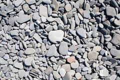 Stones on a beach Royalty Free Stock Images