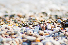 Stones on the beach Stock Image