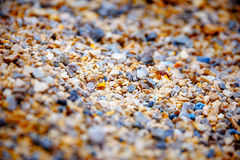 Stones on the beach, a beautiful stone bckground. Stock Images