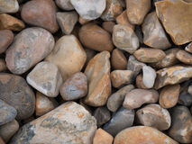 Stones on a beach. Brown stones different styles für background and textures in grafics for web and print Stock Photo