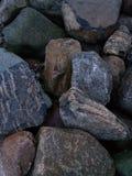 Stones at Beach stock photo