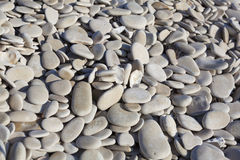 Stones in the beach of L'Humeau Royalty Free Stock Image