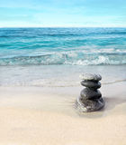 Stones on the beach Royalty Free Stock Images