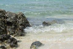 The stones beach Stock Photo