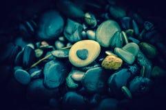 Stones on the beach. Photo taken on the coast of the Black sea Royalty Free Stock Photo