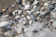 Stones on the beach Royalty Free Stock Photography