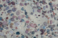 Stones on beach sand Royalty Free Stock Images