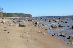 Stones on the beach Royalty Free Stock Photo